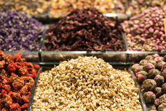 Spice bazaar in Istanbul Royalty Free Stock Photography