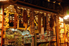 Spice bazaar in Istanbul Stock Photography