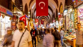 Spice Bazar Istanbul stock video