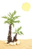 Spice beach Stock Image