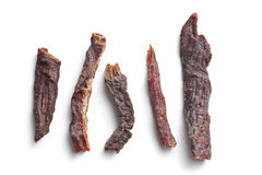 Spice beef jerky Royalty Free Stock Photography