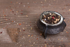 Spice. black pepper Royalty Free Stock Images