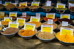 Spice Blends Stock Photos