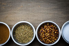 Spice Border Royalty Free Stock Photos