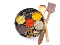 Spice Box Stock Image