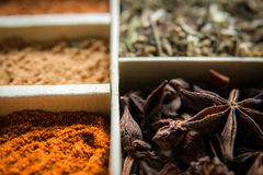 Spice box Stock Images
