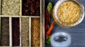 Spice box stock video