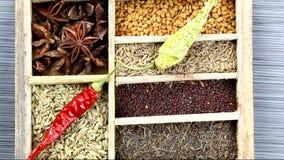 Spice box stock video footage