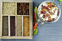 Spice box Stock Photos