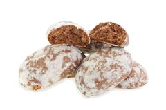 Spice-cakes isolated. Royalty Free Stock Image