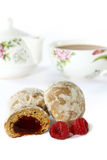 Spice-cakes for tea drinking Royalty Free Stock Images