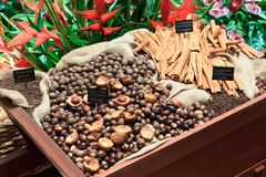 Spice Cart Stock Image