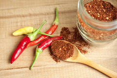 Spice cayenne pepper. Vegetable-organic-spices Royalty Free Stock Image