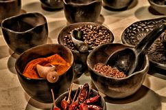 Spice, Chiles, Paprika, Chili Stock Photos