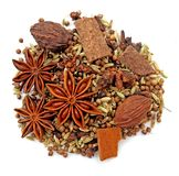 Spice Cinnamon And Star Anise Stock Photography