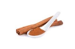 Spice Cinnamon Stock Image