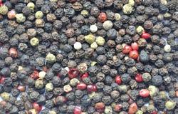 Spice cumin pepper mixture background Stock Image