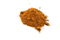 Spice - Curry. Close up of Curry spice on an isolated background Stock Photo