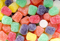 Spice Drops Candy. A pile of inviting spice drop candies, ready to eat Stock Photography