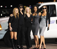Spice Girls. The Spice Girls at Los Angeles International Airport where they named a Virgin Atlantic 747 Spice One. December 12, 2007  Los Angeles, CA Picture Royalty Free Stock Image