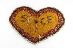 Spice Heart Royalty Free Stock Image