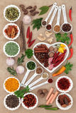 Spice and Herb Abstract Stock Photography
