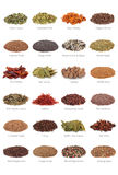 Spice and Herb Collection Stock Photos