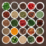 Spice and Herb Collection Royalty Free Stock Photos