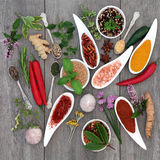 Spice and Herb Seasoning Royalty Free Stock Photography