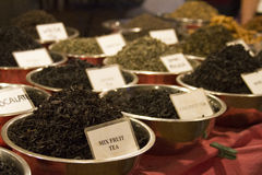 Spice Indian bazaar  Anjuna Market  Goa Stock Photos