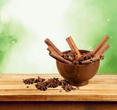 Spice. Indian culture herb seasoning chili pepper curry powder dry Royalty Free Stock Images