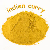 Spice - indien curry Stock Image
