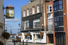 The Spice Island Inn, Portsmouth, England Royalty Free Stock Image