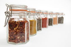 Spice Jars Stock Photos