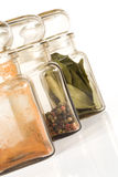 Spice Jars Royalty Free Stock Photo