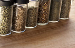 Spice Jars Stock Photos