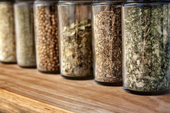 Spice Jars Stock Images