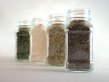 Spice Lineup Royalty Free Stock Photo