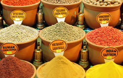 Spice Market. Close up photo of Spice Market in Istanbul Royalty Free Stock Photo