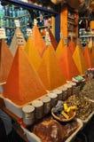Spice market stock image