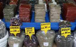 Spice Market. Royalty Free Stock Photos