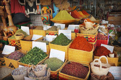 Spice market Royalty Free Stock Photos