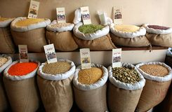 Spice Market Royalty Free Stock Images
