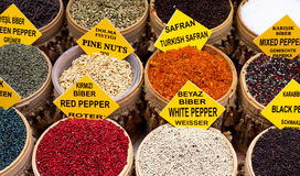 Spice Market Stock Images
