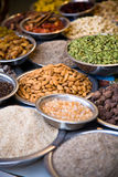 Spice market, India Royalty Free Stock Images