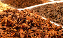 Spice market in India Stock Images