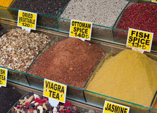 Spice market in istanbul Royalty Free Stock Images