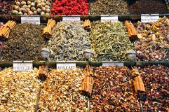 Spice market, Istanbul Stock Photos