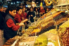 Spice market, Istanbul Royalty Free Stock Images