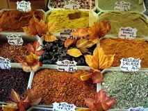Spice market in Nice. Royalty Free Stock Photos